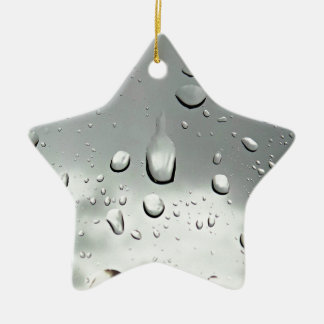 Raindrops Photography Christmas Ornament