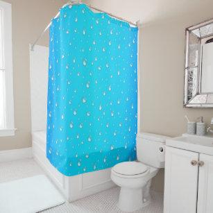 Raindrops Shower Curtains