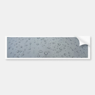 Raindrops, Water Drops, Rainy Window, Raining Bumper Sticker