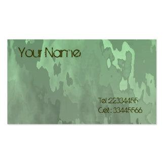 rainforest camo business card template
