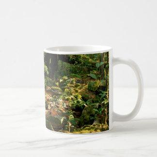 Rainforest Jungle Stream Landscape Mug