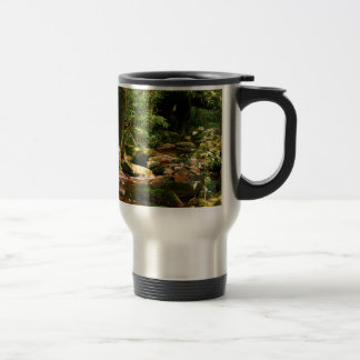 Rainforest Jungle Stream Landscape Stainless Steel Travel Mug