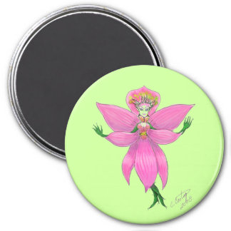 Rainforest Orchid Fairy Magnet