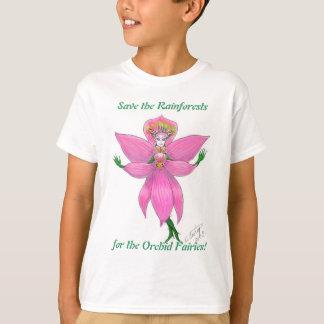 Rainforest Orchid Fairy T-Shirt