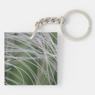Rainforest Palm Tree Leaf Close Up Key Chains