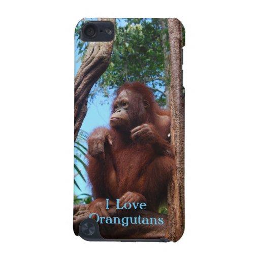 Rainforest Sunbathing - Orangutan Case iPod Touch (5th Generation) Cover