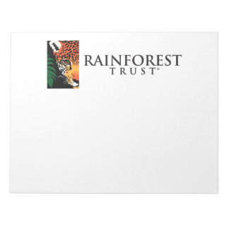 Rainforest Trust Notepad