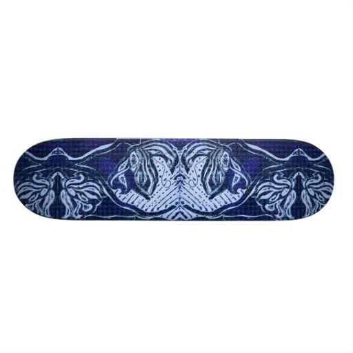 RainGutter Blue Skateboard