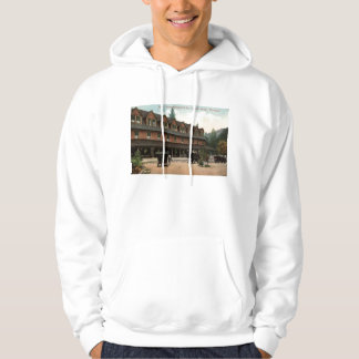 Rainier National Park Inn, Longmire, Vintage View Hoodie