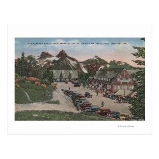Rainier National Park - Tatoosh Postcard