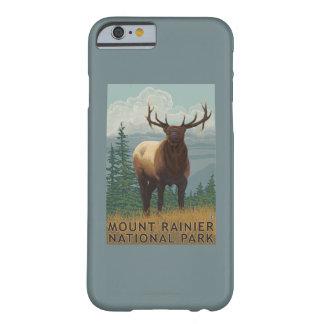 Rainier National Park, WashingtonElk Scene Barely There iPhone 6 Case