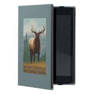 Rainier National Park, WashingtonElk Scene Cover For iPad Mini