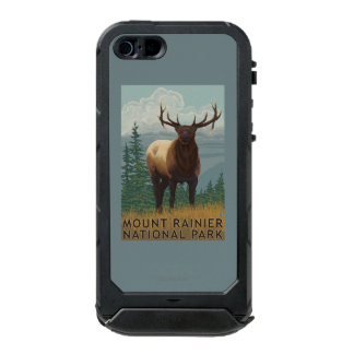 Rainier National Park, WashingtonElk Scene Incipio ATLAS ID™ iPhone 5 Case