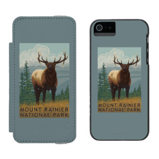 Rainier National Park, WashingtonElk Scene Incipio Watson™ iPhone 5 Wallet Case