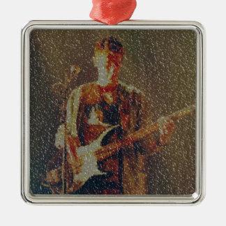 Raining at the gig christmas ornament