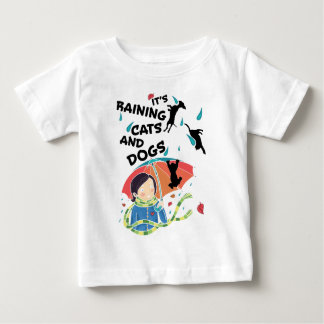 Raining Cats And Dogs Baby T-Shirt