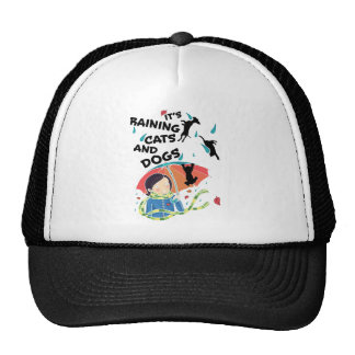 Raining Cats And Dogs Cap