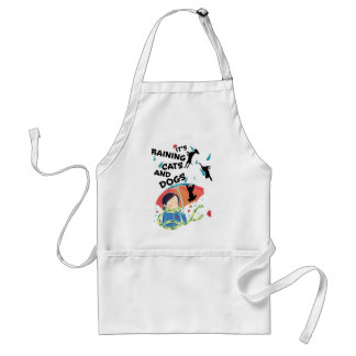 Raining Cats And Dogs Standard Apron
