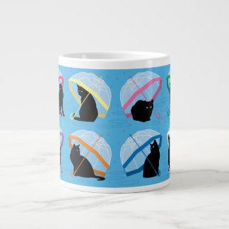 Raining Cats 'n Cats Jumbo Mug