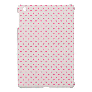 Raining hearts iPad mini covers