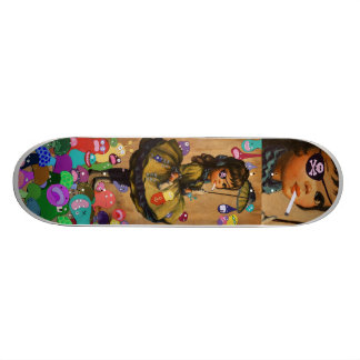 Raining Monsters Skate Deck