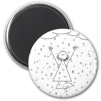 Raining Music Elation Magnet