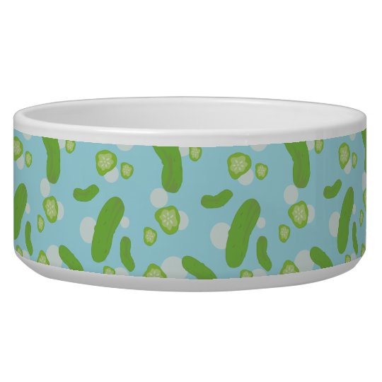 Raining Pickles Pet Bowl