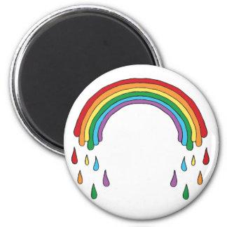 Raining Rainbow Magnet
