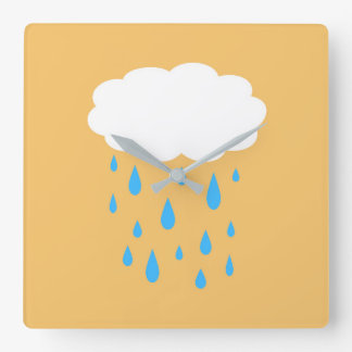 Rainy Cloud Clock