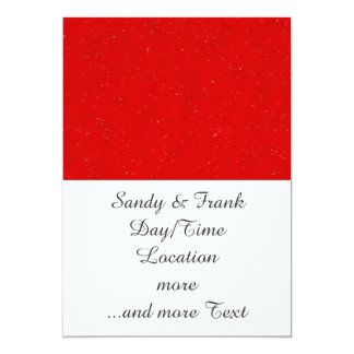 rainy day 14216 red (I) 13 Cm X 18 Cm Invitation Card