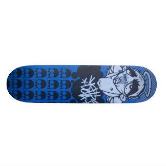 rainy day blues deck by DOLLA 21.3 Cm Mini Skateboard Deck