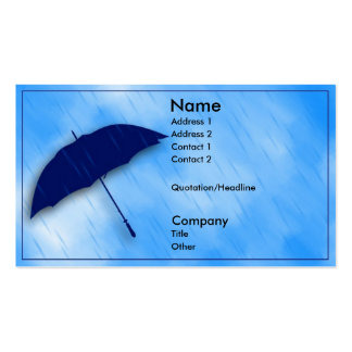 Rainy Day Business Cards