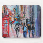 Rainy Day Carnaby Street Mouse Mat