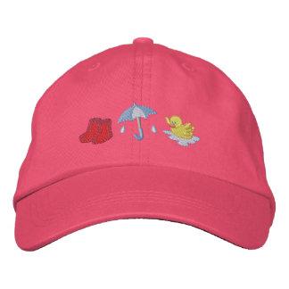 Rainy Day Embroidered Baseball Cap