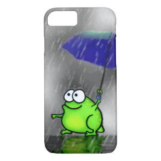 Rainy Day Frog iPhone 7 Case