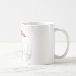 Rainy Day Hamster Coffee Mug