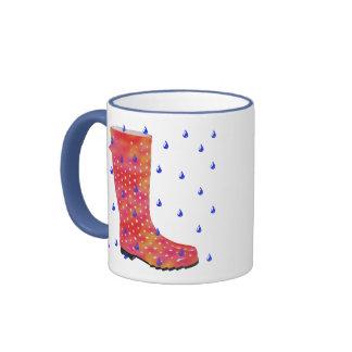 rainy day ringer mug