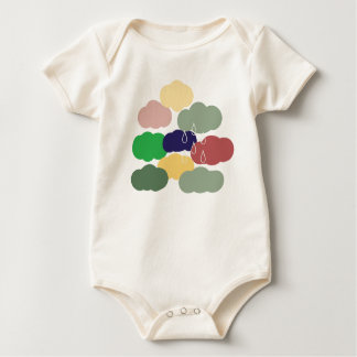 Rainy Day One-Piece Baby Body Suit- Tan- Lt Weight Baby Bodysuit