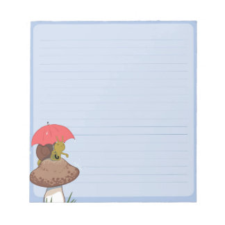 Rainy Day Snail Notepad