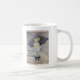 Rainy Day Stories Coffee Mugs