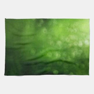 Rainy Day Summer Bokeh Tea Towel