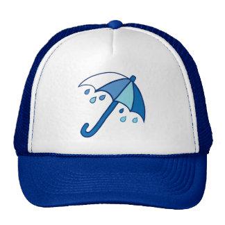 Rainy Day Umbrella Trucker Hat