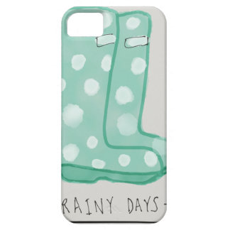 Rainy Days Barely There iPhone 5 Case