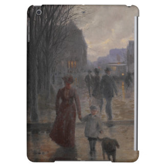 Rainy Evening on Hennepin Avenue, c.1902