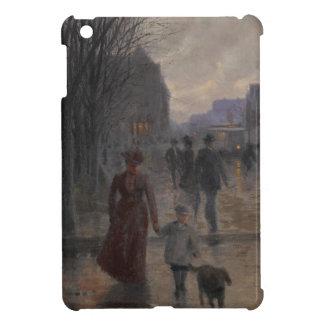 Rainy Evening on Hennepin Avenue, c.1902 Case For The iPad Mini
