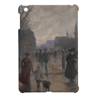 Rainy Evening on Hennepin Avenue, c.1902 Cover For The iPad Mini