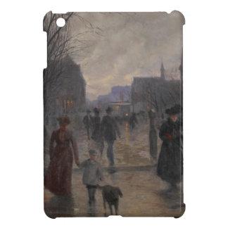 Rainy Evening on Hennepin Avenue, c.1902 iPad Mini Cover