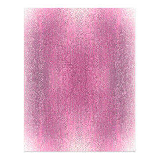 Rainy Glass with Snow Retro Pink 21.5 Cm X 28 Cm Flyer