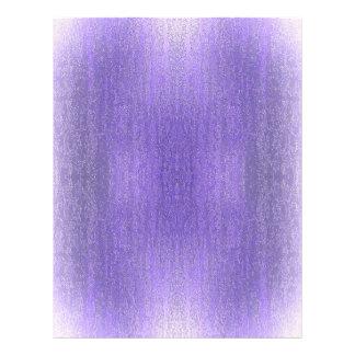 Rainy Glass with Snow Retro Violet Flyers