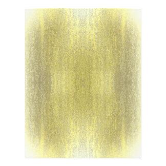 Rainy Glass with Snow Retro Yellow 21.5 Cm X 28 Cm Flyer